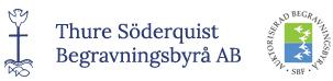 Thure Söderquist Begravningsbyrå AB i Stockholm Logo