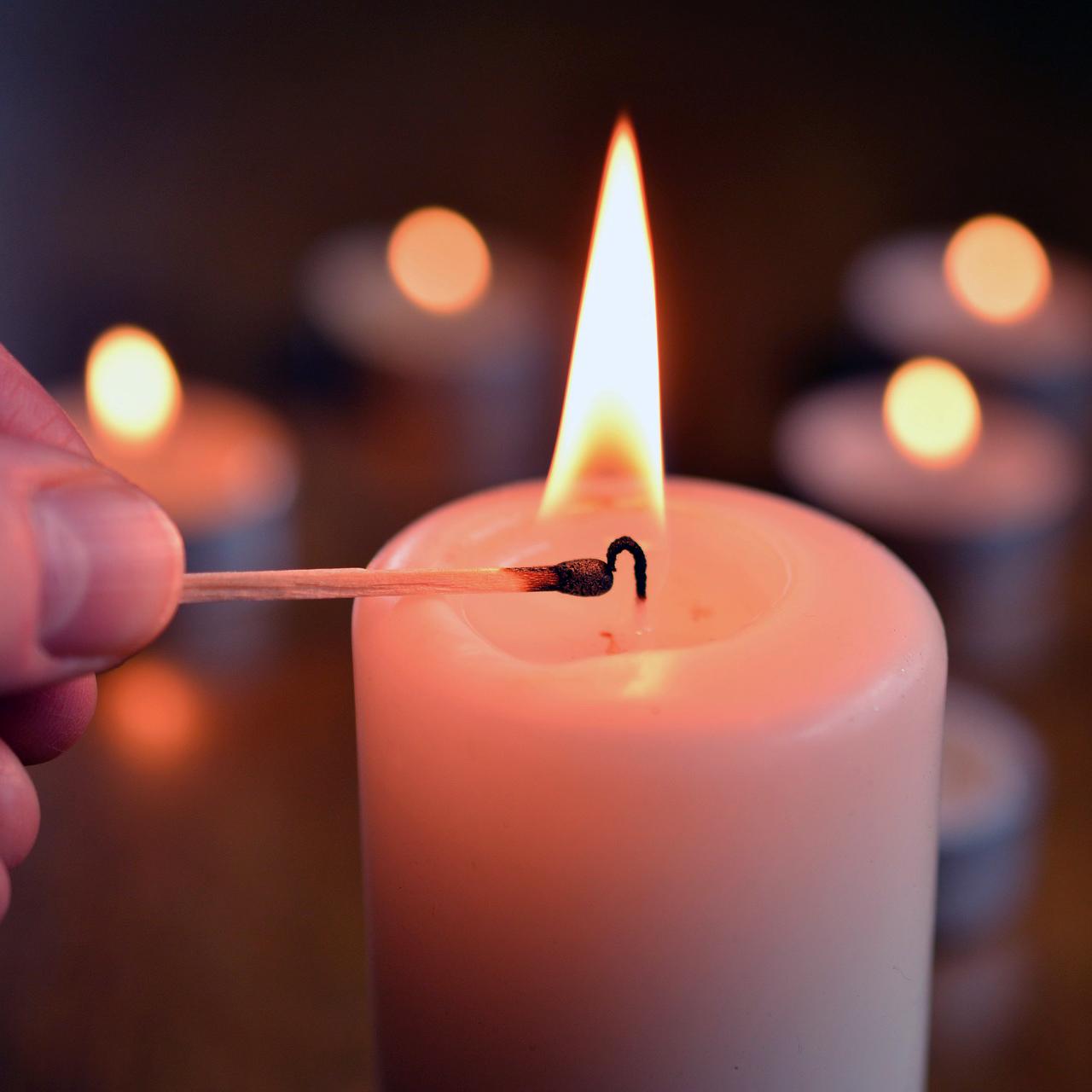 Ljus för minnesstund