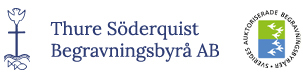 Thure Söderquist Begravningsbyrå AB i Stockholm Logotyp